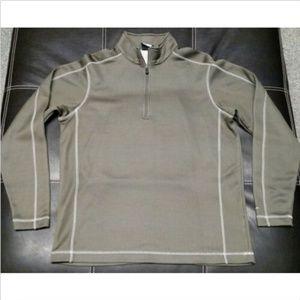 NLC Nike Mens Nike 1/4 Zip Golf ThermaFit Pullover